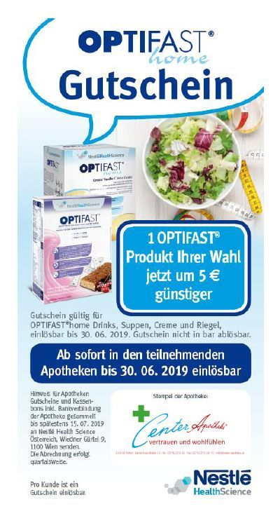 Optifast gutschein Interspar